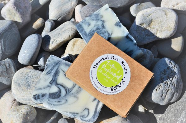 Peppermint and tea tree soap