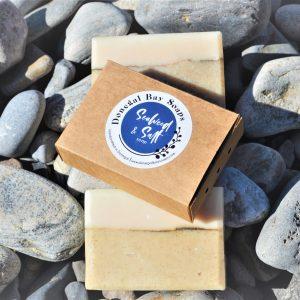 Seaweed and salt soap